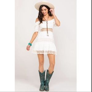 Free People Dresses - NWT Free People Cruel Intentions White Mini Dress